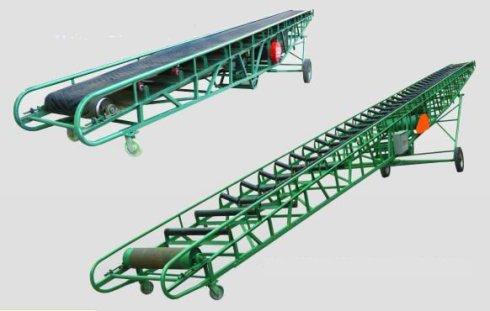 带宽1200型大倾角皮带输送机